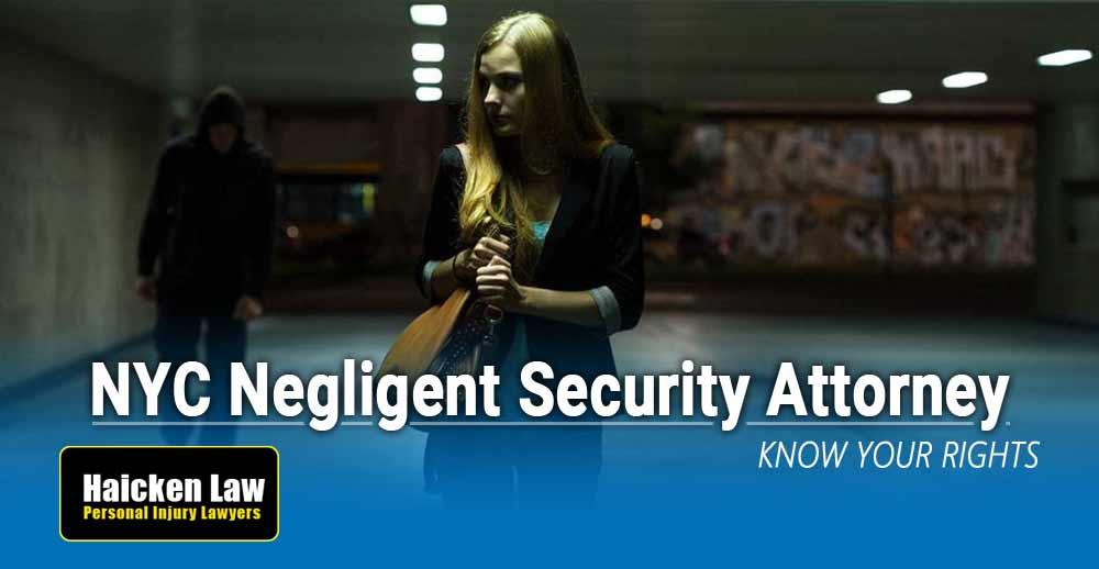Negligent Security Lawyer New York